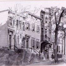 Image of KC0437.PT.AP.L.F. - Rowhouses On 2100 Block of Eye Street, N.W.