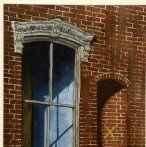 Image of KC0444.PT.AP.E.F. - Old Window in 600 Block of M Street, S.W.