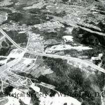Image of AE 0021 - Aerial view in Prince Georges County, Maryland, north over Branch Avenue, etc.
