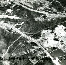 Image of AE 0022 - Aerial view in Prince Georges County, Maryland, north over Branch Avenue, etc.