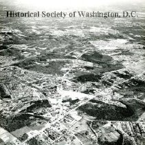 Image of AE 0532 - View northeast across Little River Turnpike over Annandale to the Potomac River.