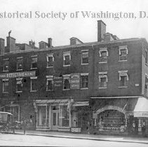 Image of CHS 02954 - Rhodes Tavern building on northeast corner of 15th and F Streets NW.