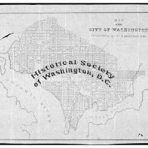 Image of M 0510 - Map of the city of Washington / drawn by F.C. De Krafft, city surveyor ; eng'd by Mrs. W.I. Stone.