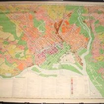 Image of M 0513 - Zoning Use Map of Washington, D.C. 1958, 7th Edition