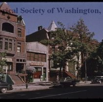 Image of PR 0004B - Commercial buildings on the west side of the 1000 block  of Vermont Avenue NW.