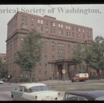 Image of PR 0005A - Sibley Hospital on the corner of North Capitol and Pierce Streets NW.