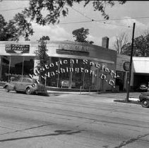 Image of WY 0133.02 - Automobile dealer, west side of Georgia Avenue at Holly Street NW.