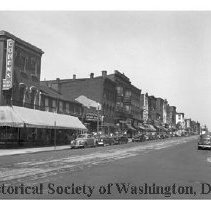 Image of WY 1864.33 - West side of 7th Street NW between L and M Streets