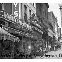 Image of WY 1865.33 - West side of 7th Street NW between L and M Streets