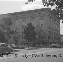 Image of WY 2070.35 - Building at 10th and U Streets, NW