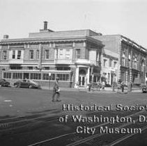 Image of WY 2072.35 - Building at 10th and U Streets, NW