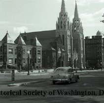 Image of WY 2124.35 - St. Paul's Church, 15th and V Streets NW, later St. Augustine's.