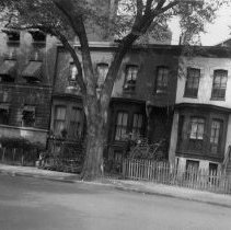 Image of WY 2126.35 - Houses on New Hampshire Avenue NW south of U Street