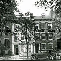 Image of BI 232B - Row houses on the north side of the 2000 block of I Street NW.