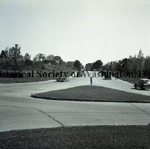Image of WY 0010.01 - Blair Portal, 16th Street and Eastern Avenue NW, looking south.