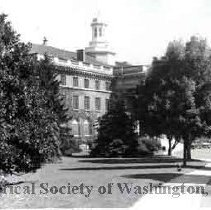 Image of WY 0119a.02 - Another view of Walter Reed Hospital, Army Medical Center.