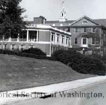 Image of WY 0119b.02 - Red Cross Building, Army Medical Center.