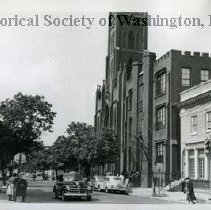 Image of WY 1929.33 - Immaculate Conception Church at 1318 8th Street NW.