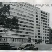 Image of WY 2029.34 - The Wire Building on the northwest corner of Vermont Avenue and K Street NW.