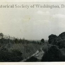Image of WY 0395.07 - Looking east on South Dakota Avenue NE (extended) near the Pennsylvania Railroad tracks.