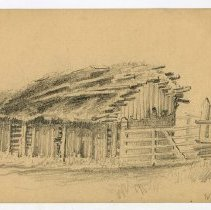 Image of NE 207 - Thatched roof hut