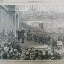 Image of 1950.001.15A - Our New President--Vice-President Wheeler Taking the Oath in the Senate Chamber
