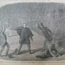 Image of 1950.001.17 - Murderous Attack Upon the Hon. C.H. Van Wyck in the Streets of Washington