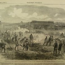Image of 1982.001PR.01 - Explosion at the Arsenal in Washington, December 18, 1865