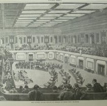Image of 1989.067.04 - The United States Senate in Session in Their New Chamber