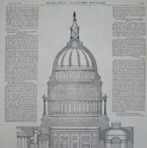 Image of 1991.124.23 - Sectional View of the Capitol at Washington