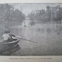 Image of 1992.090.04 - Fourteenth Street, Washington, D.C., In the Flood