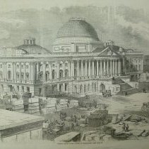 Image of 1993.034.01 - Present State of the Capitol at Washington