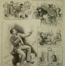 Image of 1993.124.08 - Washington, D.C.--Features and Incidents of the Trial of President Garfield's Assassin