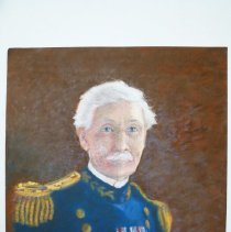 Image of Art 0002 - Portrait of Brigadier General Richard L Hoxie, U.S. Army Corps of Engineers.