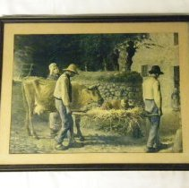 Image of Printe of a rural scene in Holland