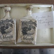 Image of White Clover Cream bottles