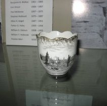 Image of Breakwater Lighthouse teacup (front)