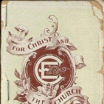 Image of Elm Street M.E. Church, 1900 program