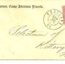 Image of Envelope for John Lynch letter