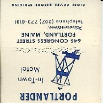 Image of Stagecoach Inn matchbook cover