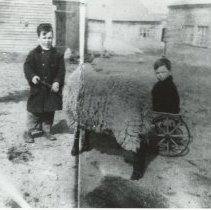 Image of Lawrence and Edwin Roberts - Dawson Farm