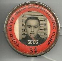 Image of Ken Burton's shipyard badge