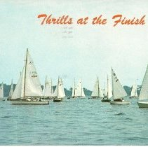 Image of T-Ledge Camp sailing postcard