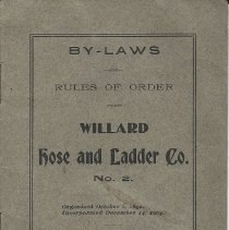 Image of Willard Hose By-Laws