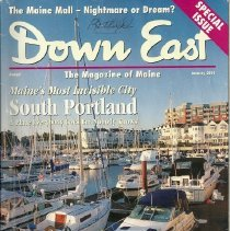 Image of Down East Magazine issue on South Portland