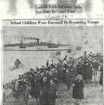 Image of School children at Cushing's Point