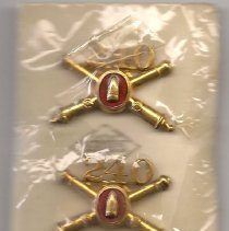Image of 240th Coast Artillery lapel pins