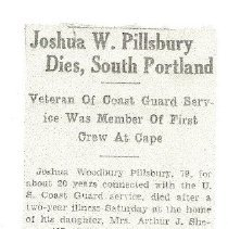 Image of Joshua W. Pillsbury obituary