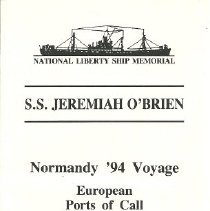 Image of S.S. Jeremiah O'Brien tour