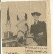 Image of Hurricane Valley Stables Paul Revere clipping